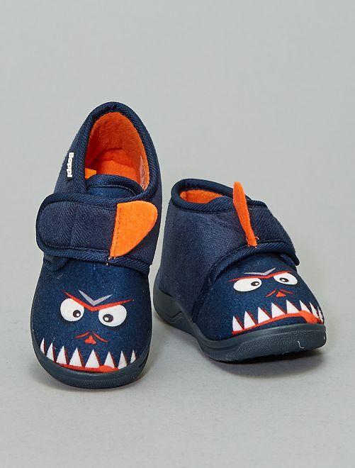 Zapatillas de casa monstruo 'Beppi'                             AZUL