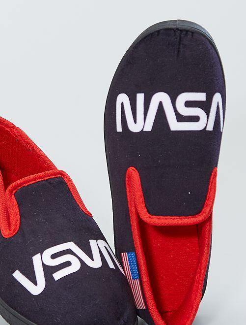 Zapatillas de casa 'NASA'                     NEGRO