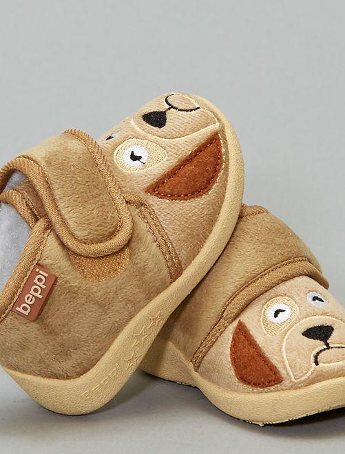 Zapatillas de casa perro 'Beppi'                             BEIGE