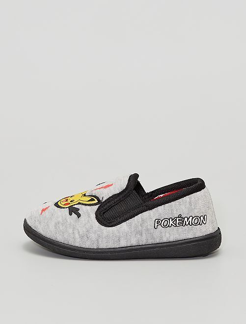 Zapatillas de casa 'Pikachu' 'Pokemon'                             gris/negro
