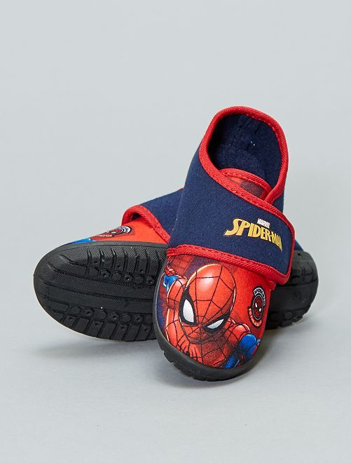 Zapatillas de casa 'Spider-Man'                             azul navy Chico