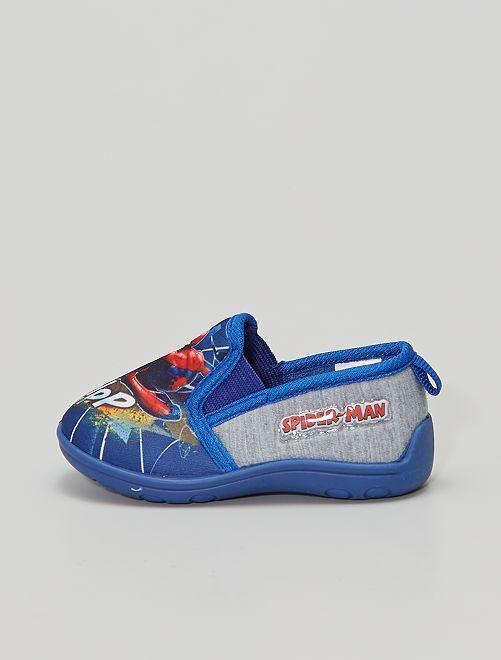 Zapatillas de casa 'Spiderman'                                         azul