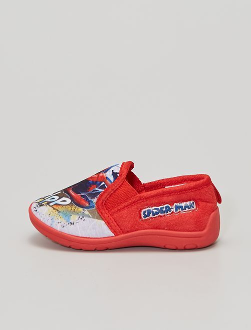 Zapatillas de casa 'Spiderman'                                         ROJO