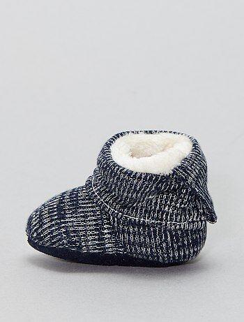 Zapatillas de casa tipo calcetines forradas - Kiabi