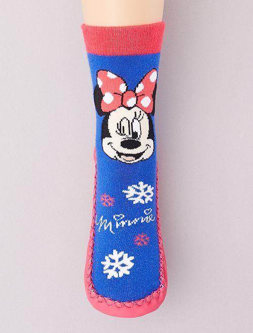 Zapatillas de casa tipo calcetines 'Minnie'                                         azul