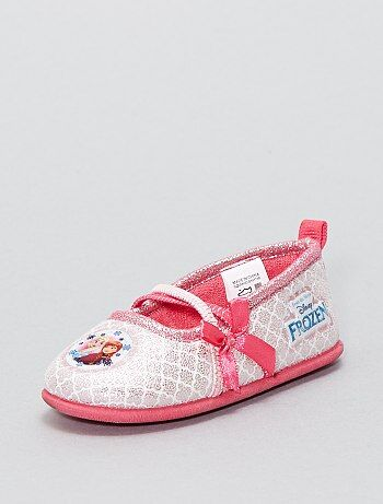 Zapatillas de casa tipo manoletinas 'Frozen' - Kiabi