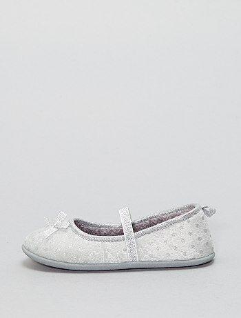 Zapatillas de casa tipo manoletinas - Kiabi