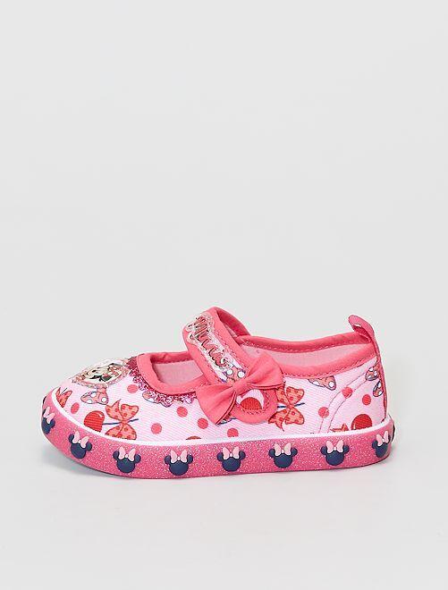 Zapatillas de casa tipo manoletinas 'Minnie' 'Disney'                             ROSA