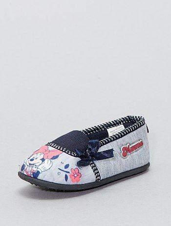 Zapatillas de casa tipo manoletinas 'Minnie Mouse' - Kiabi