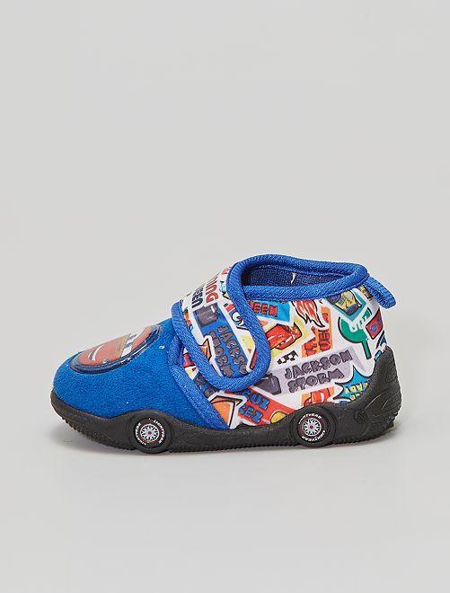 Zapatillas de casa velcro 'Cars'                     azul