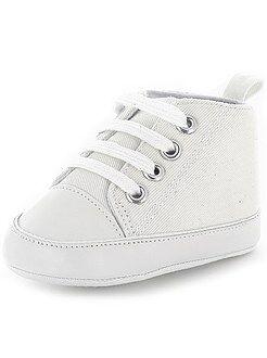 Niña 0-24 meses Zapatillas de deporte bajas de charol efecto cocodrilo