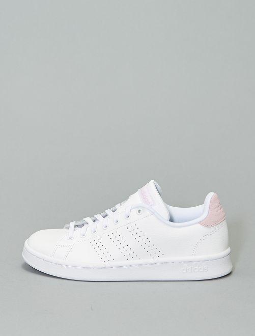 Zapatillas de piel 'Adidas Advantage'                             ROSA