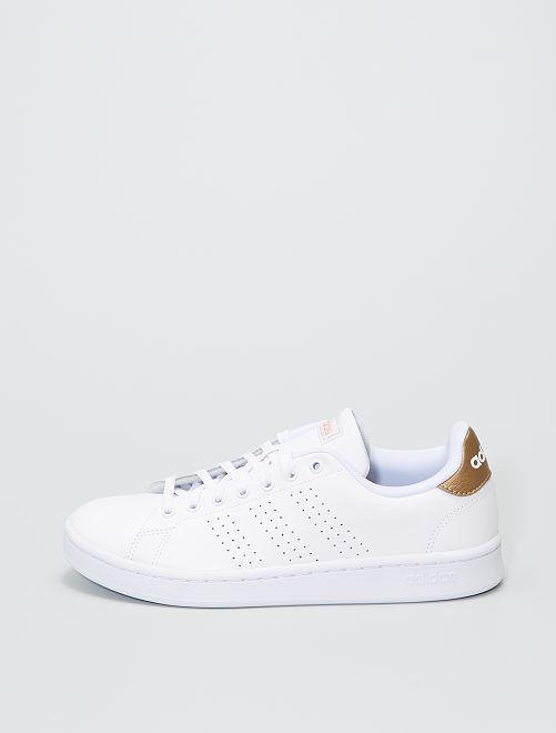 Zapatillas de piel 'Adidas'                             BLANCO