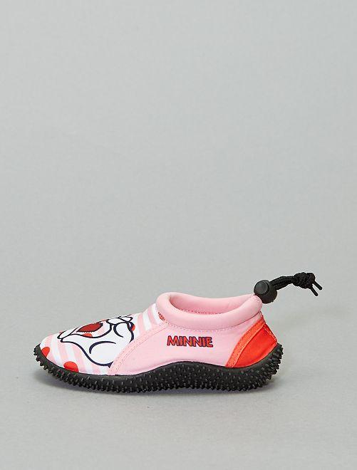 Zapatillas de playa 'Minnie'                             rosa