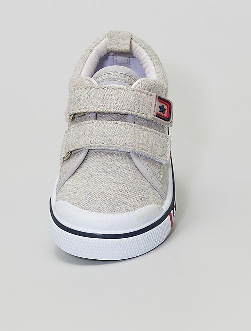 Zapatillas de tela                             BEIGE
