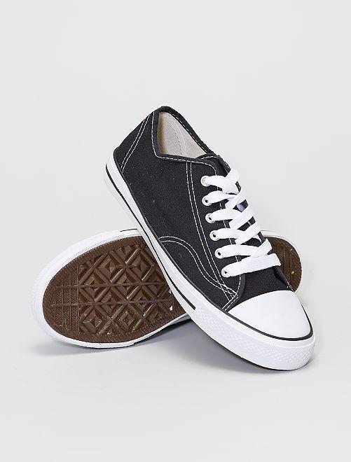 Zapatillas de tela                             blanco