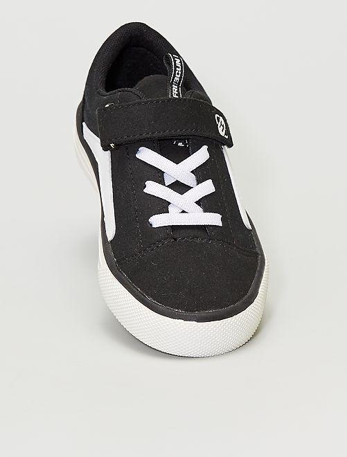 Zapatillas de tela 'Freegun'                             NEGRO