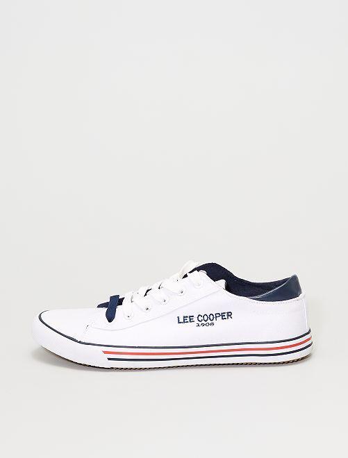 Zapatillas de tela 'Lee Cooper'                             blanco
