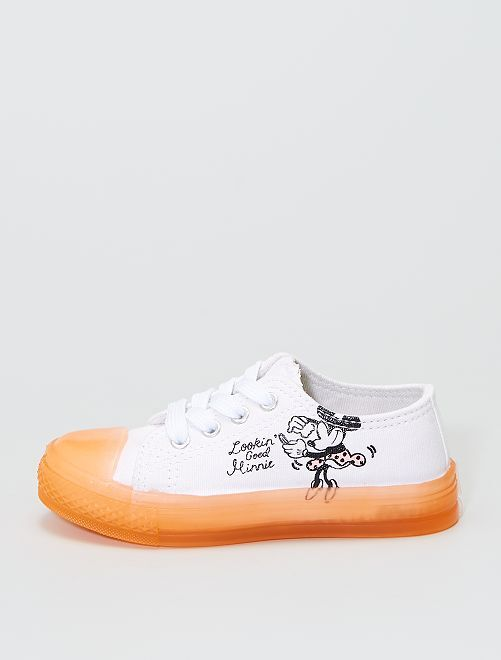 Zapatillas de tela 'Minnie'                             blanco