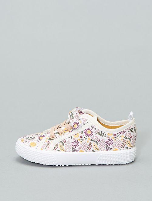 Zapatillas de tela                                         ROSA Chica