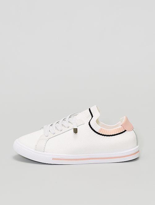 Zapatillas de tela                             ROSA