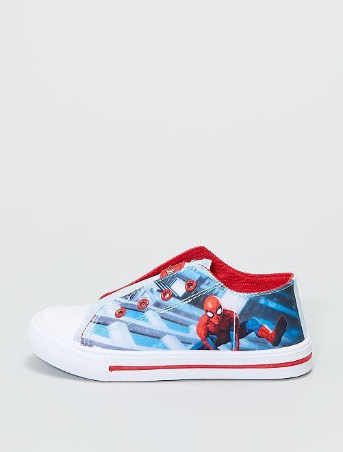 Zapatillas de tela 'Spider-Man'                             azul