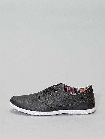 5454cfb524c Zapatos Hombre   negro   Kiabi