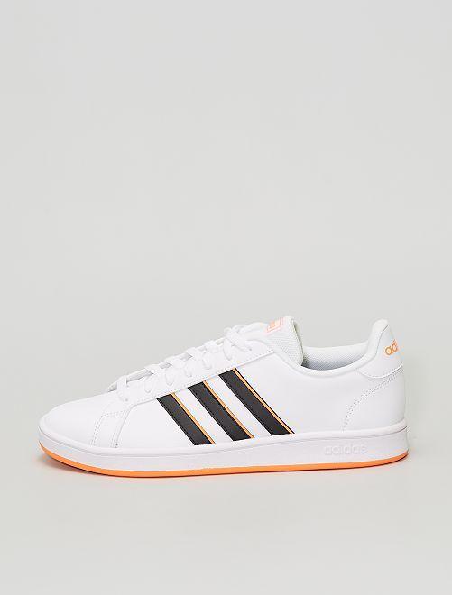 Zapatillas deportivas 'adidas' 'grand court base'                             BEIGE