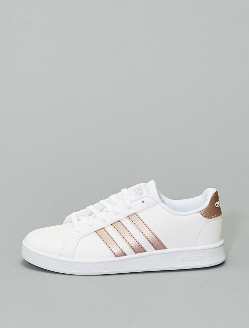 Zapatillas deportivas 'adidas Grand Court K'                             BLANCO