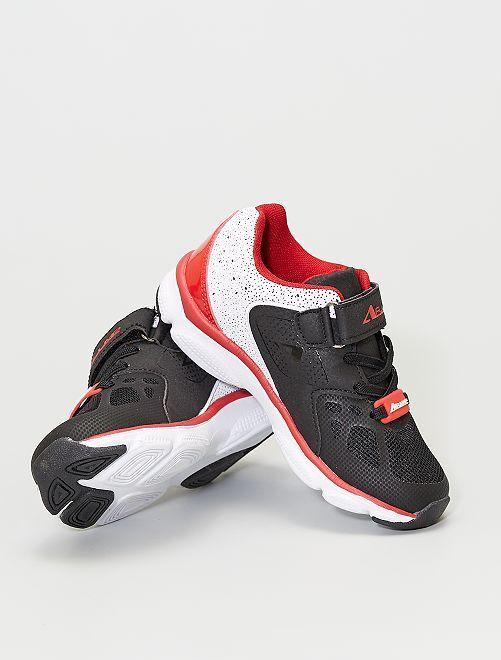 Zapatillas deportivas 'AirJump'                             negro/rojo