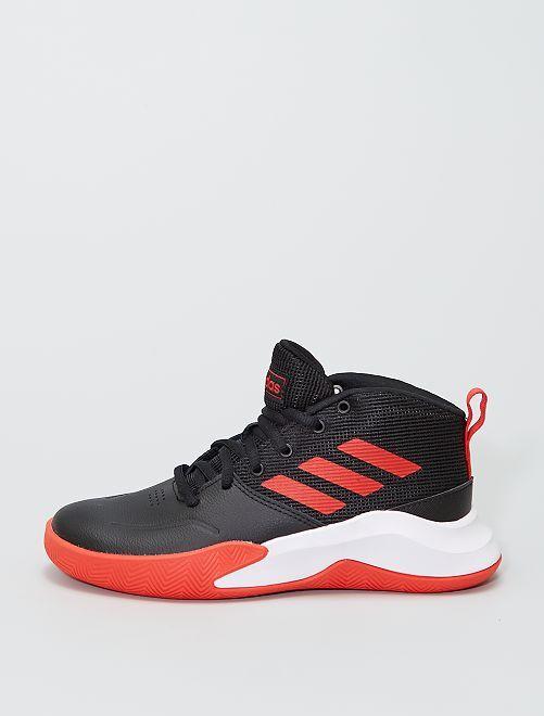 Zapatillas deportivas altas 'adidas Ownthegame K Wide'                             NEGRO