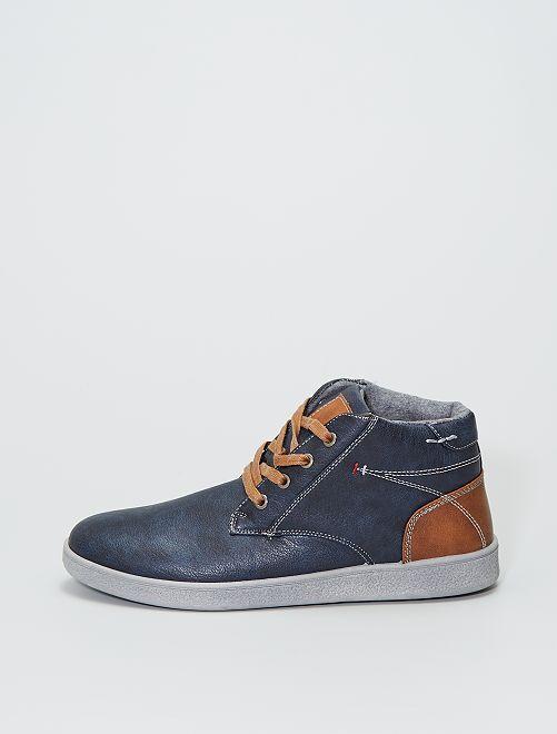 Zapatillas deportivas altas                             azul navy