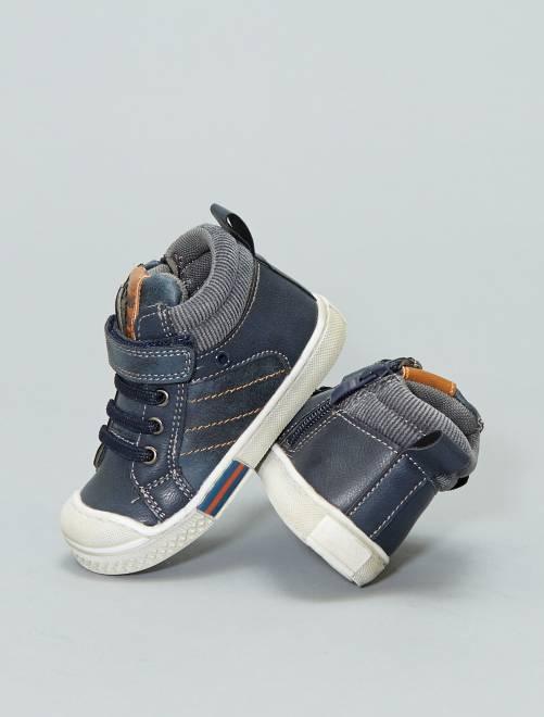 Zapatillas deportivas altas 'Beppi'                             azul Bebé niño
