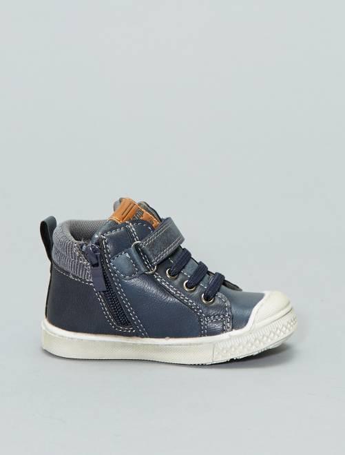 742ce9e2d387c Zapatillas deportivas altas  Beppi  Bebé niño - azul - Kiabi - 17