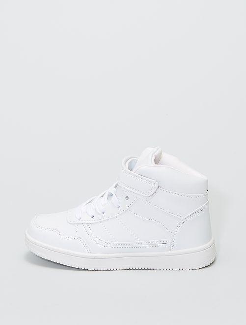 Zapatillas deportivas altas                             blanco
