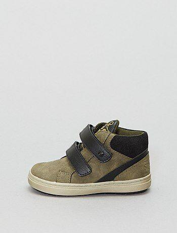 Niño 0-36 meses - Zapatillas deportivas altas de antelina - Kiabi
