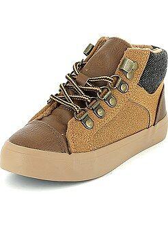 Zapatillas moda - Zapatillas deportivas altas forradas