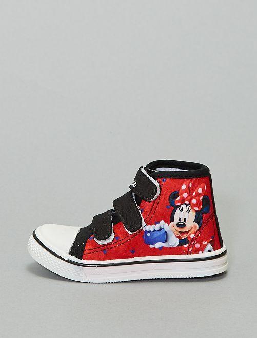 Zapatillas deportivas altas 'Minnie'                             rojo