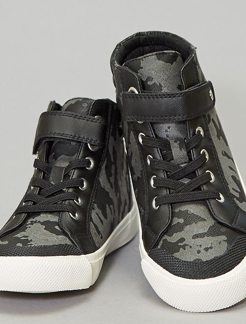 Zapatillas deportivas altas sintéticas                                                     negro
