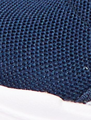 aaa98411e2a ... Zapatillas deportivas altas tipo calcetines vista 7. Zapatillas  deportivas altas tipo calcetines azul navy Chico