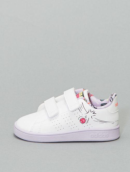 Zapatillas deportivas bajas 'Adidas'                             BLANCO