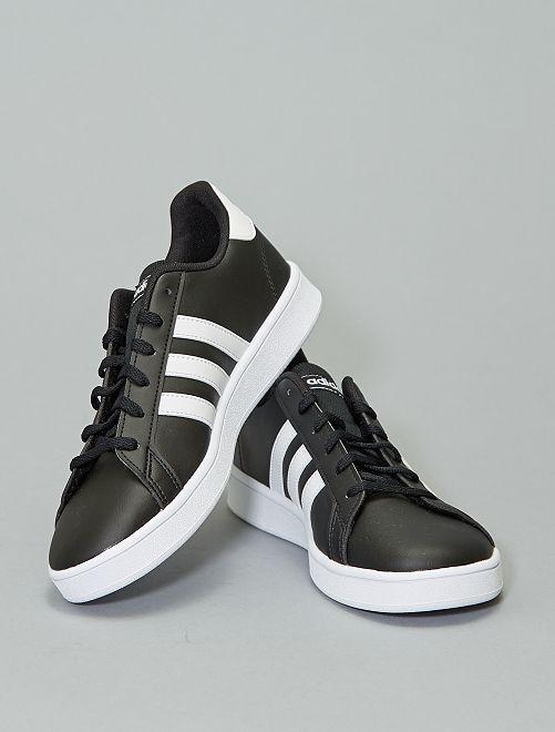 Zapatillas deportivas bajas 'Adidas GRAND COURT K'                                         NEGRO