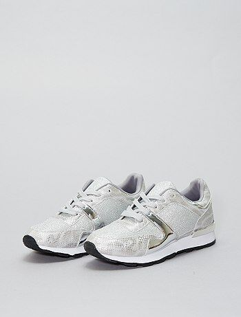 Zapatillas deportivas bajas brillantes - Kiabi