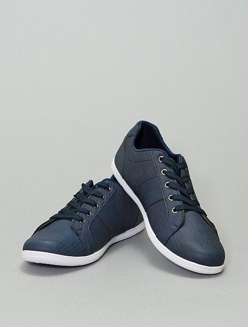 Zapatillas deportivas bajas con cordones                     azul navy