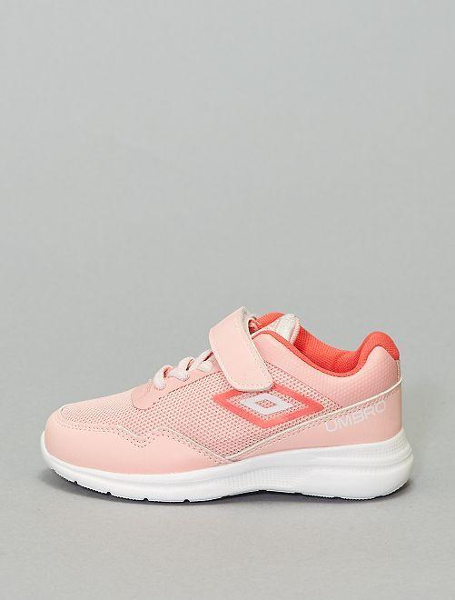 Zapatillas deportivas bajas con velcro                             ROSA