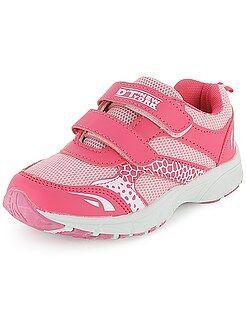 Zapatillas deportivas bajas con velcro