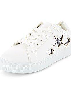 Zapatos mujer - Zapatillas deportivas bajas de 'estrellas' - Kiabi