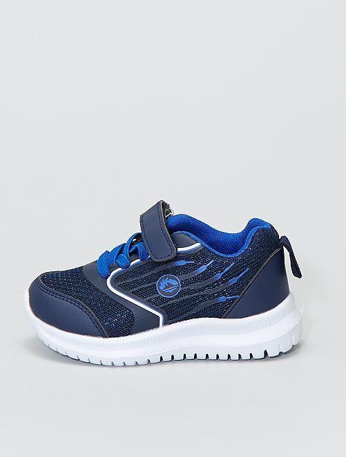 Zapatillas deportivas bajas de malla                             azul navy