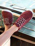 Zapatillas deportivas bajas de piel sintética