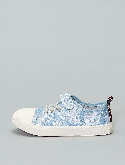 Zapatillas deportivas bajas de tela                                                     denim Zapatos